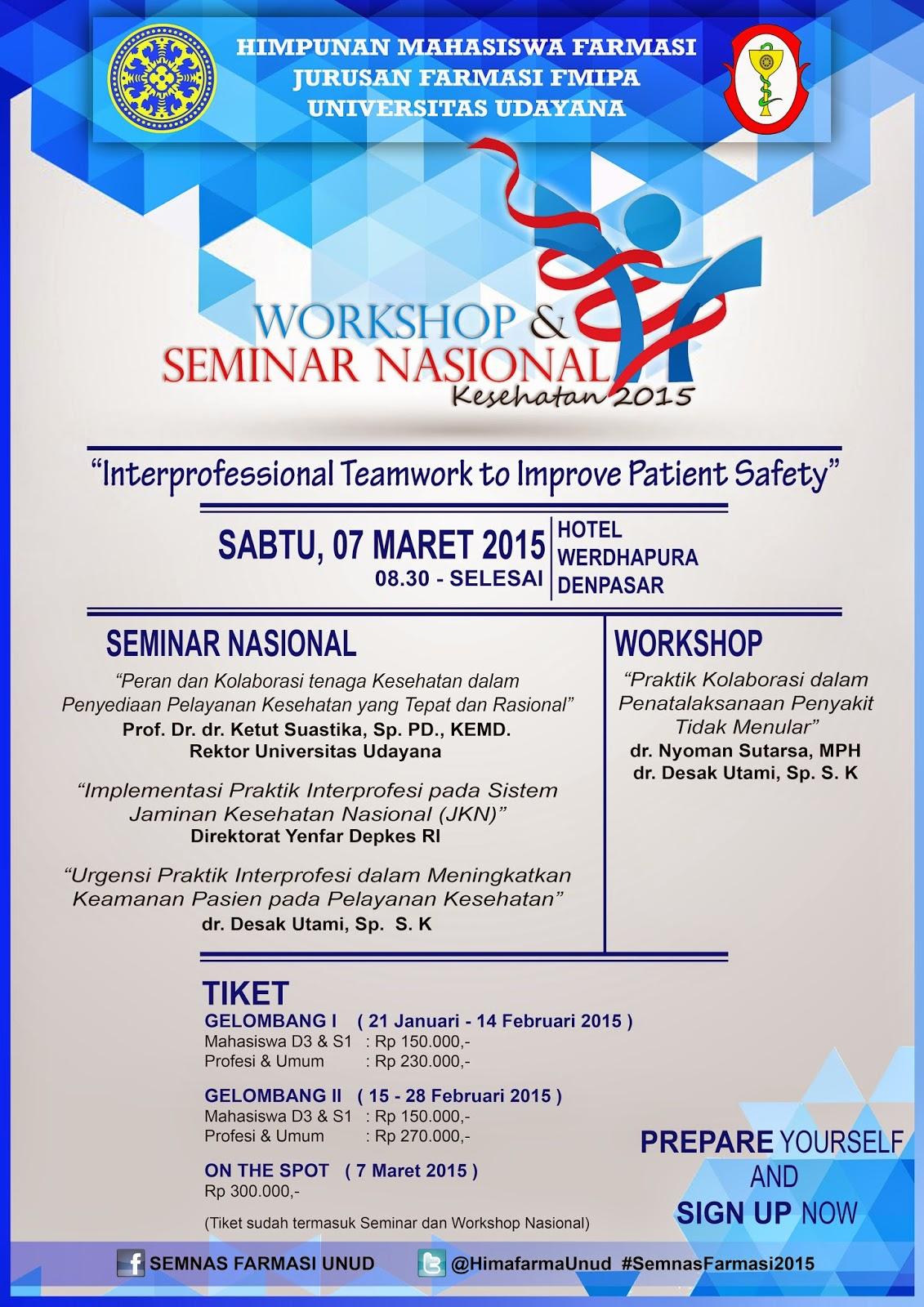 Tema Seminar Kesehatan Terbaru Ug Seminar Workshop Dan Seminar Nasional Kesehatan 2015